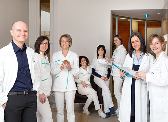 Equipe Centro Genesy, medici specialisti a Vicenza Schio
